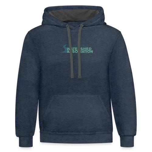 BRWA Logo - Contrast Hoodie