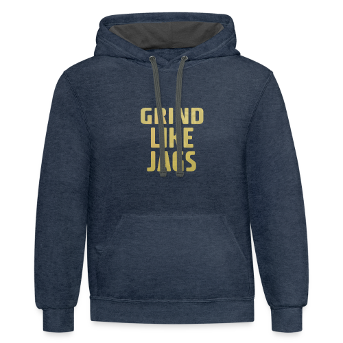 GrindLike Jags Logo - Contrast Hoodie