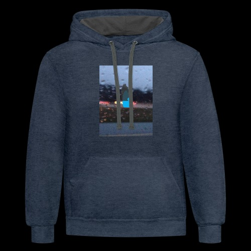 solace - Contrast Hoodie