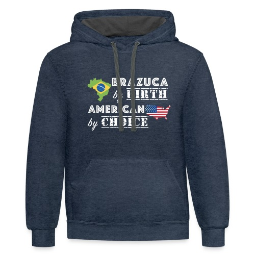 Brazuca and American - Contrast Hoodie