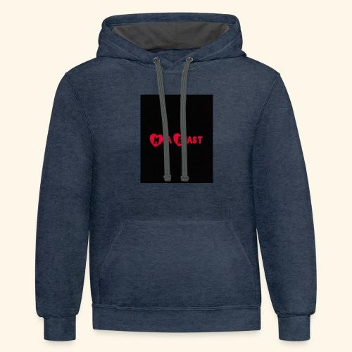 Intro hoodie - Contrast Hoodie
