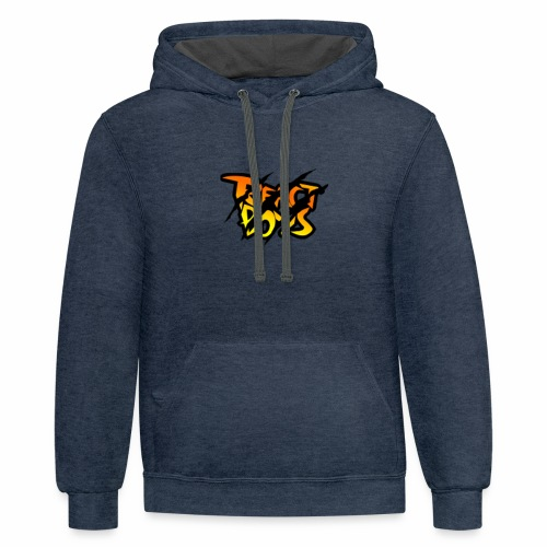 REACT BOYS/MarkZ - Contrast Hoodie