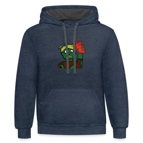 I got your heart - Contrast Hoodie