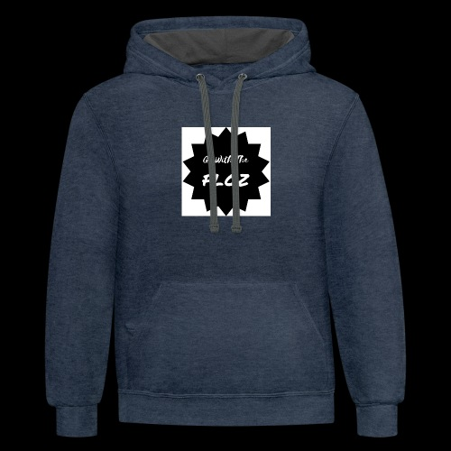 Go With The Floz - Contrast Hoodie