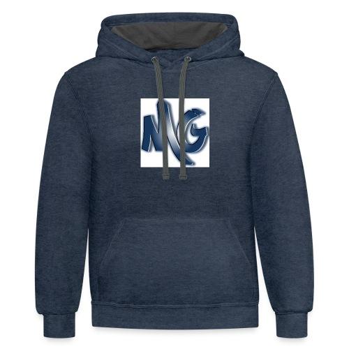 MG Gaming inc. - Contrast Hoodie
