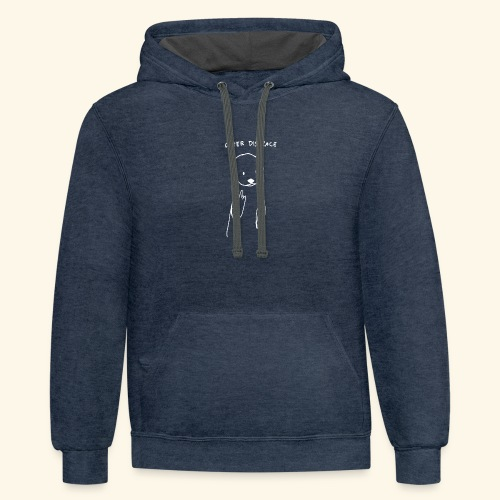 Otter disgrace - Contrast Hoodie