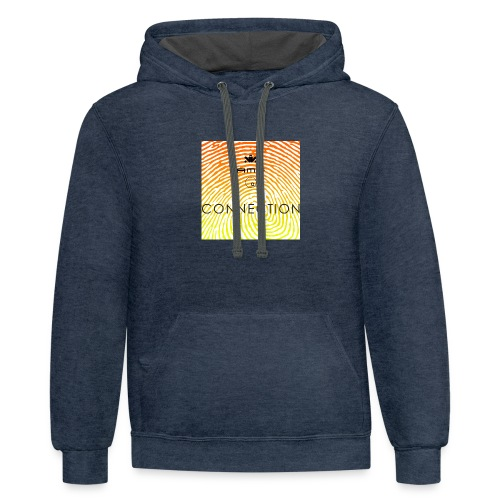 Conection T Shirt - Contrast Hoodie