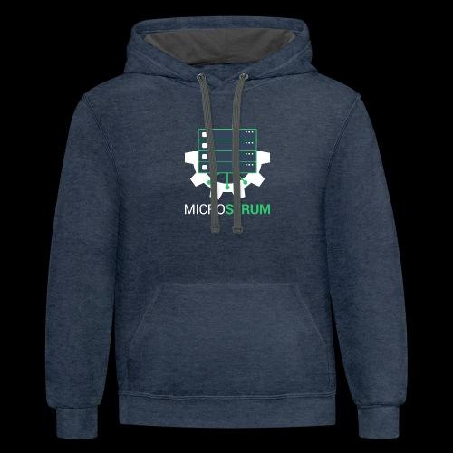 microserum-2 - Contrast Hoodie