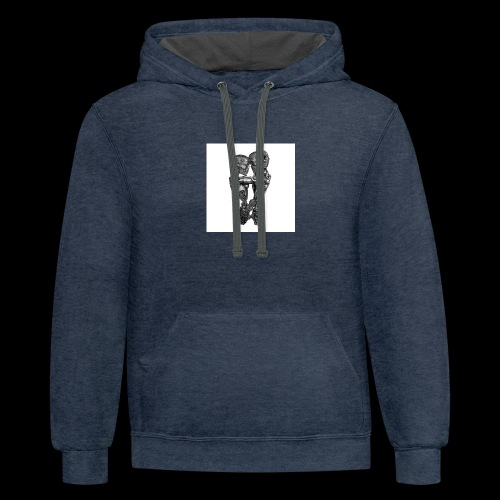 We were made for each other - Contrast Hoodie