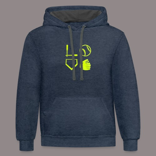 The love of the game - Contrast Hoodie