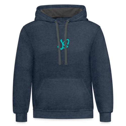 Signature Logo - Contrast Hoodie