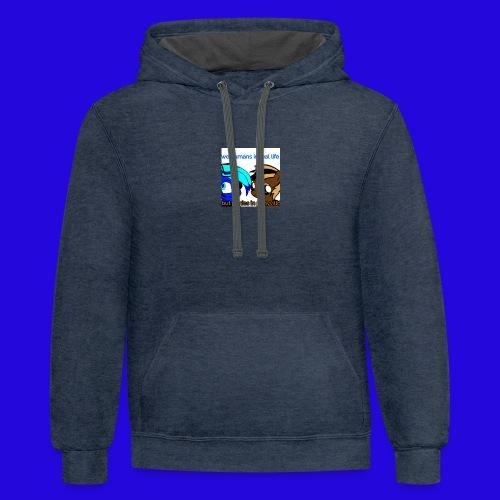 Logopit 1533320914465 - Contrast Hoodie