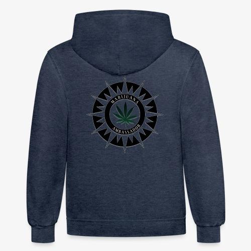 Marijuana Ambassador 02 - Contrast Hoodie