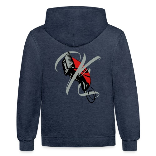 Kipper Headz Final - Contrast Hoodie