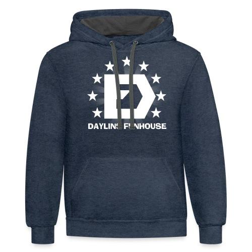 DF Classic Logo - Contrast Hoodie