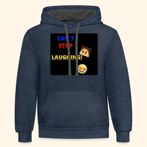 Laughing MC - Contrast Hoodie