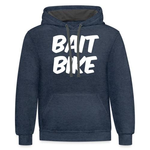 BAIT BIKE WHITE - Contrast Hoodie