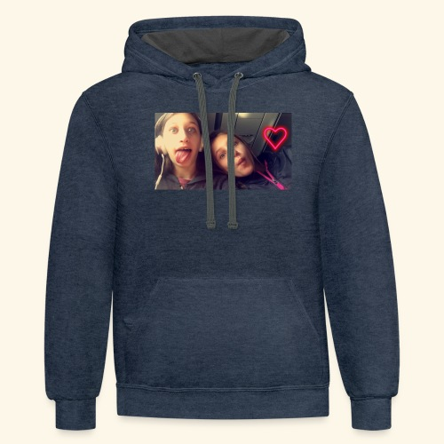 Madison and Dylan Selfie - Contrast Hoodie