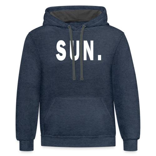 SUN - Contrast Hoodie