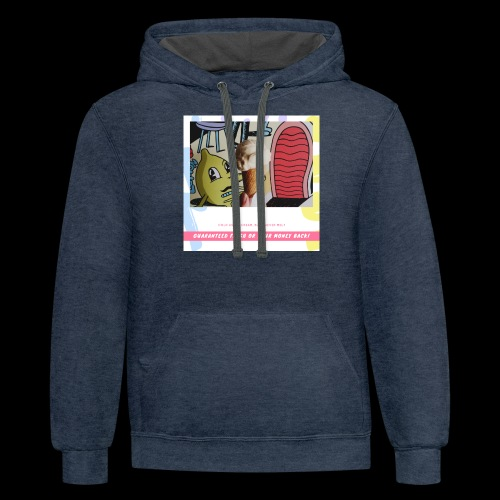 Guaranteed fresh or your money back - Contrast Hoodie