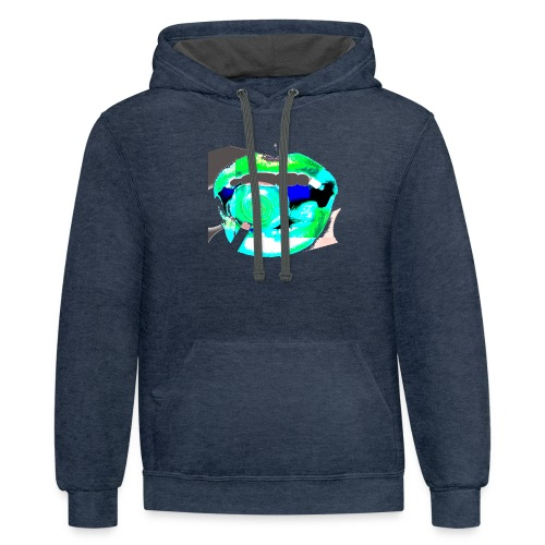green lolly - Contrast Hoodie