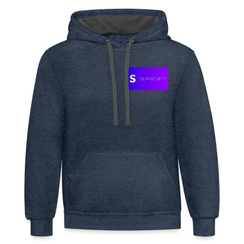 Logo for days - Contrast Hoodie