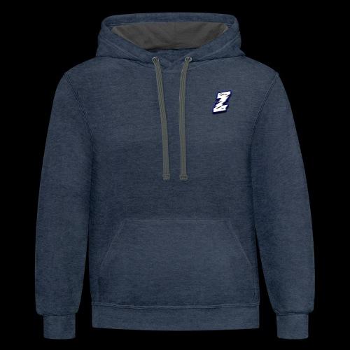 The ZenchuSquad Logo - Contrast Hoodie