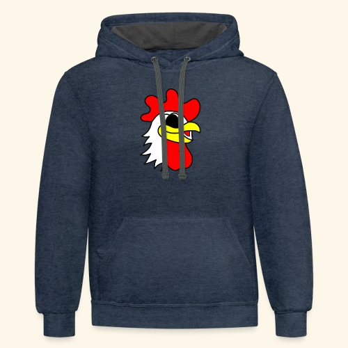 crispychickenboy - Contrast Hoodie