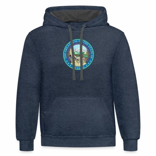 Nevada State RP - Seal - Contrast Hoodie