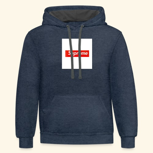 Cool Supreme clothes - Contrast Hoodie