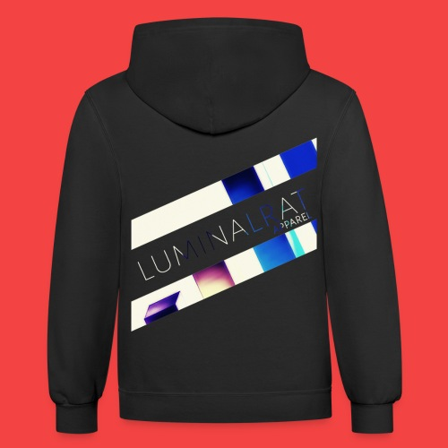 Bar Graph - Contrast Hoodie
