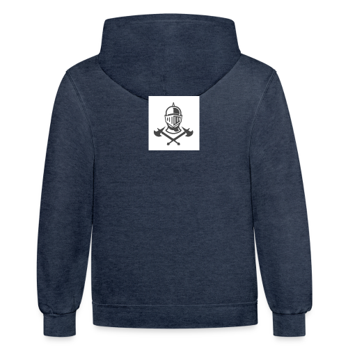 KNIGHT WITH AXES - Contrast Hoodie