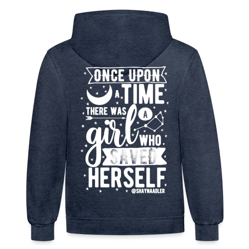 Once Upon a Time - Unisex Contrast Hoodie