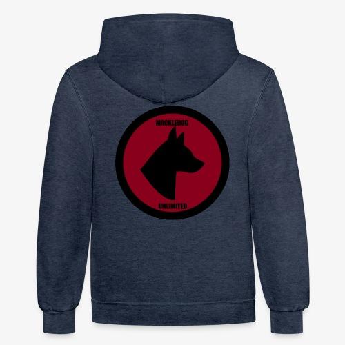 Mackledog Unlimited - Contrast Hoodie