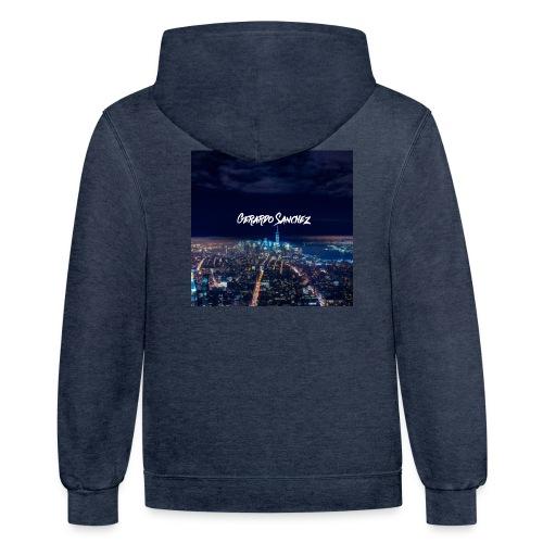 City Skyline - Contrast Hoodie