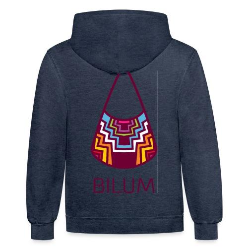 Awesome Bilum design - Contrast Hoodie