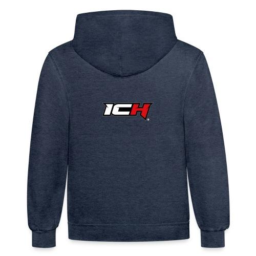 ICH Squad Merch - Unisex Contrast Hoodie