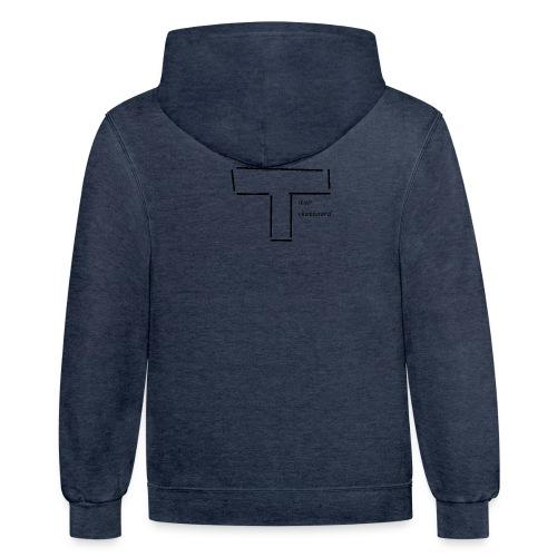 titan skateboard - Contrast Hoodie