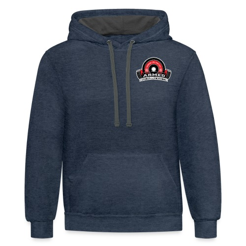 Armed Strength Conditioning cv 1 png - Contrast Hoodie