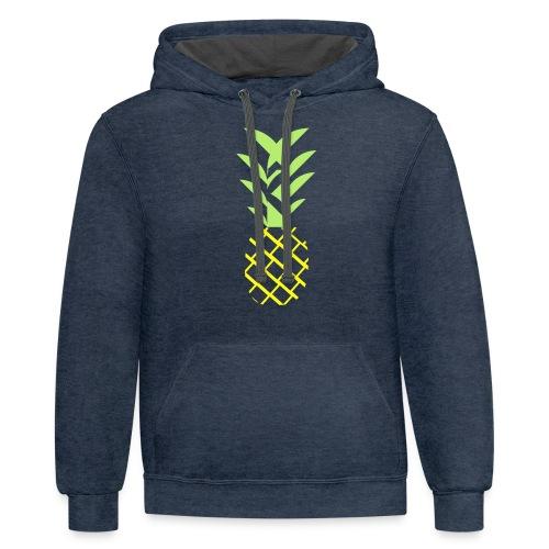 Pineapple flavor - Contrast Hoodie