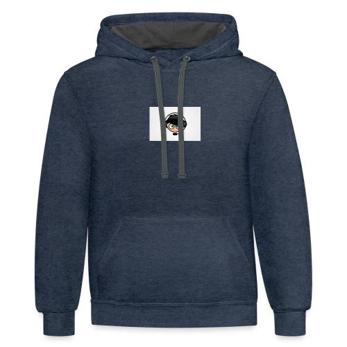 20172422017 06 033821617gaming logo - Contrast Hoodie