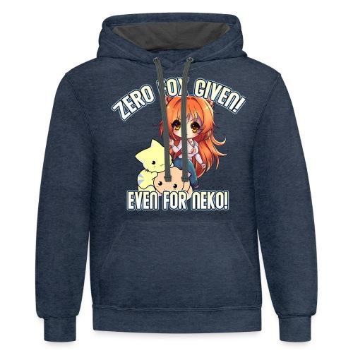 ZERO FOX GIVEN - Contrast Hoodie