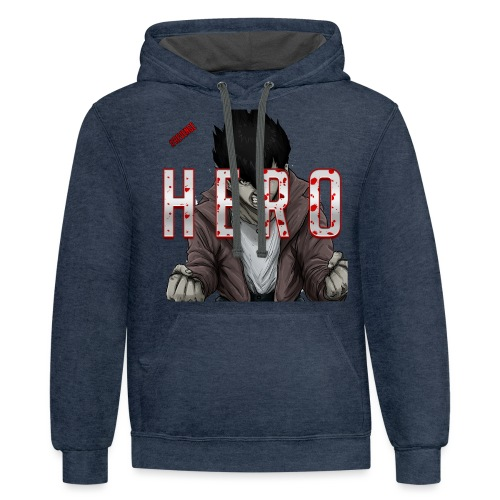 Out For Blood - Contrast Hoodie