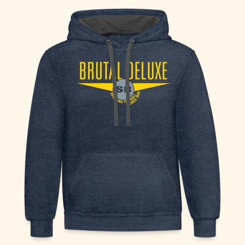 Brutal Deluxe - Contrast Hoodie