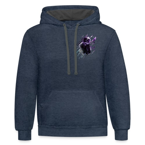YouTube Merch - Contrast Hoodie