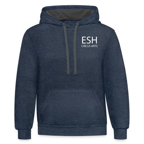 ESH Hoodie! - Unisex Contrast Hoodie