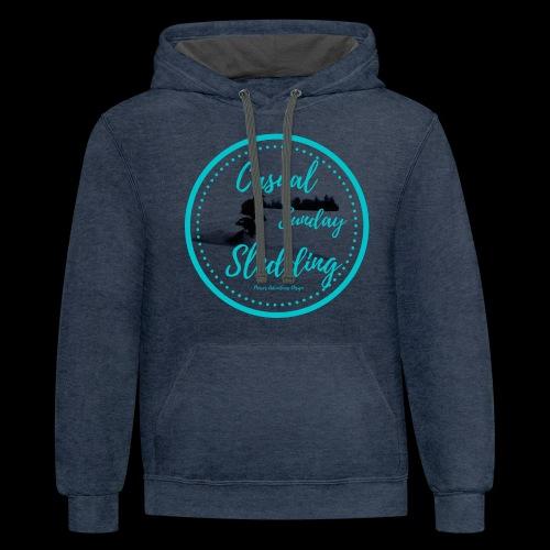 CSS Sledder - Contrast Hoodie