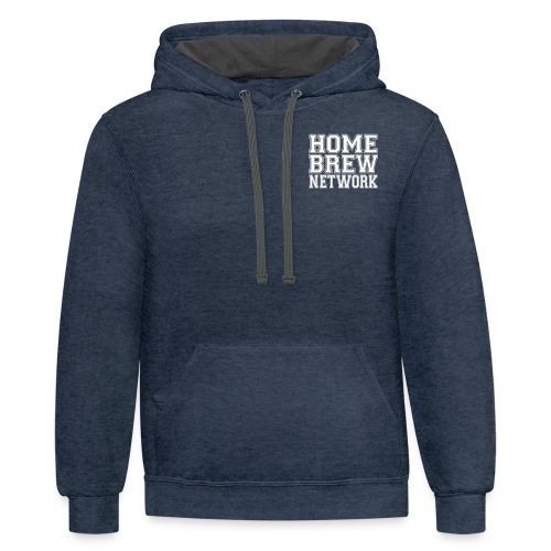 Home Brew Network 2-Sided True Independent - Contrast Hoodie