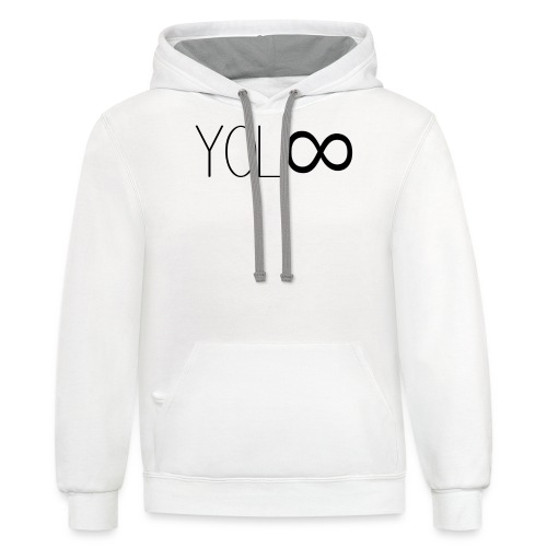 You Only Live Infinity - Contrast Hoodie