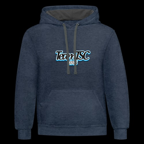TeamTSC dolphin - Contrast Hoodie